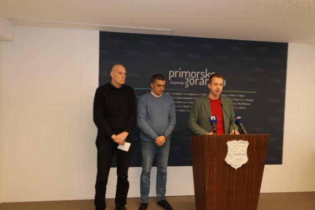 Boras Mandić i direktor Zračne luke Tomislav Palalić