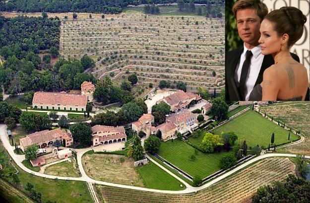 Brad-Pitt-and-Angelina-Jolie-French-Chateau-1