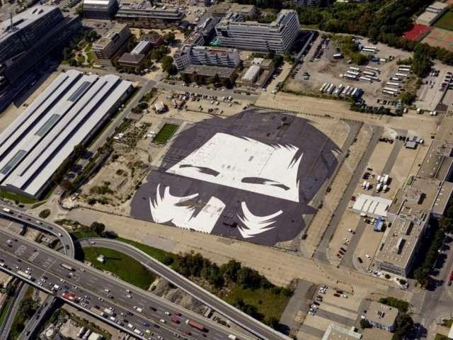 Neu Marx: 30.000 m2 großes GOLIF-Kunstwerk auf der Karl-Farkas-Gasse