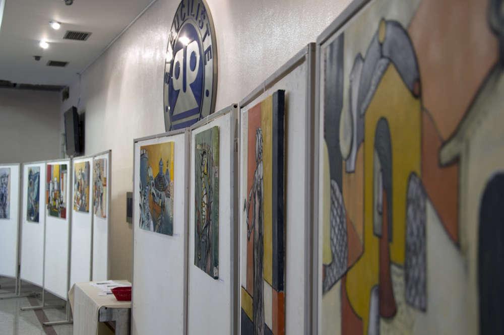Izložba Šetnja gradom – Irena Ostojić – viša med