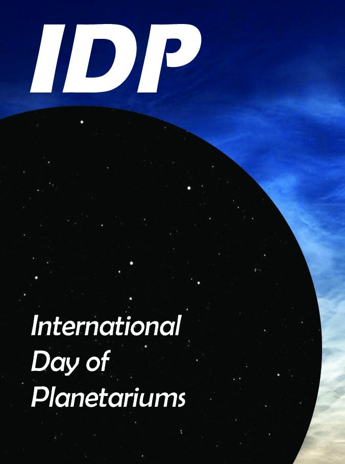 Logo Međunardni dan planetarija