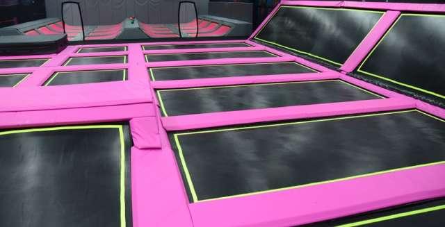 bill gates trampolin