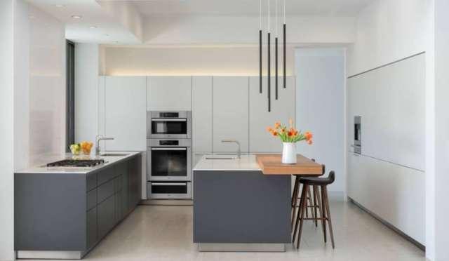 kuhinja u dvije boje