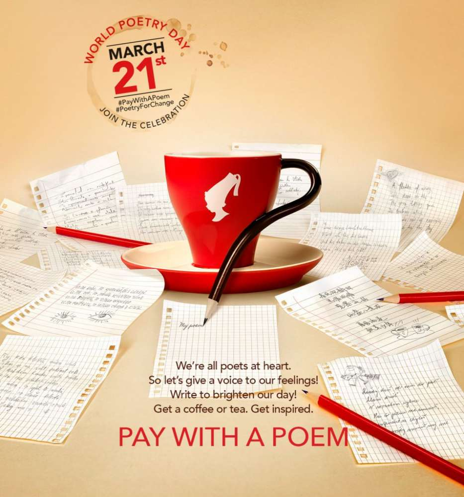 Plati kavu stihom