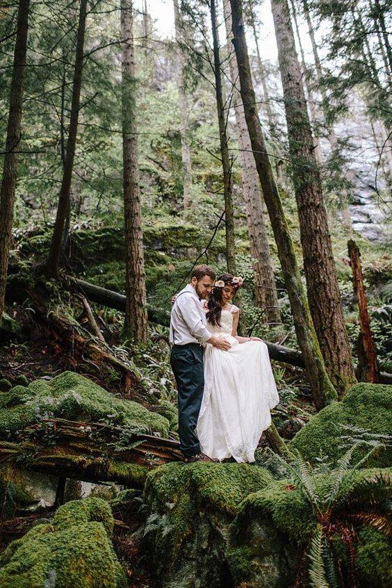 vjenčanje u šumi