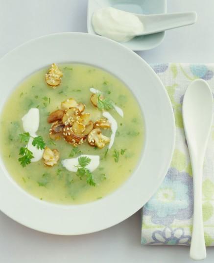 5-chervil-soup-germany – Photo Credit, Alamy