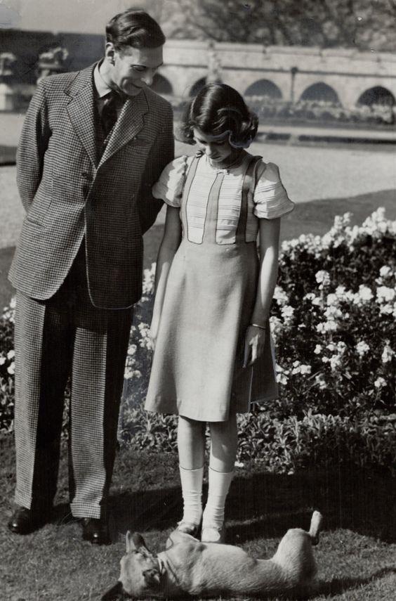 kraljica elizabeta s ocem