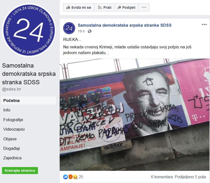 Facebook SDSS