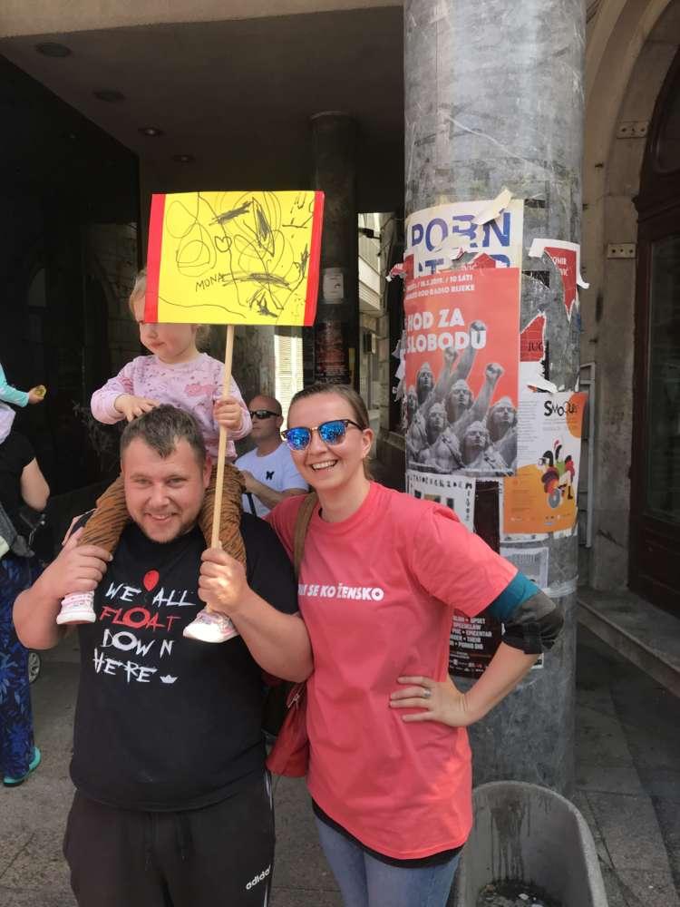 hod za slobodu najljepša poruka