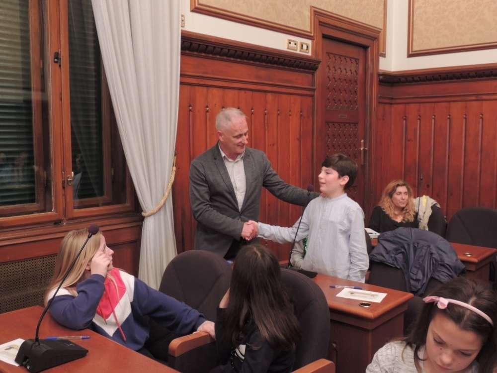 Vito Juričić novi je dječji gradonačelnik Grada Opatije