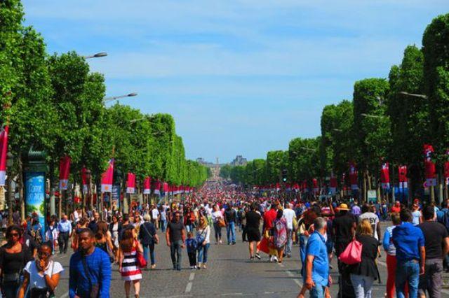 avenue de champ paris