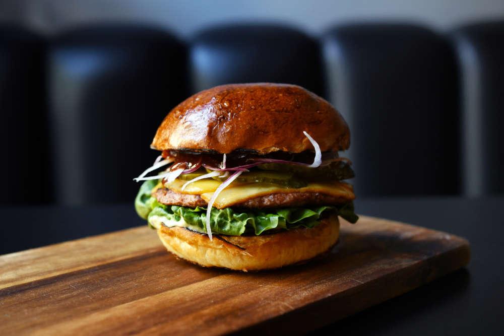 Beyond vege burger by Marko Palfi