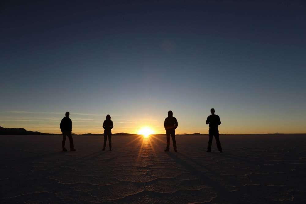 Bolivia salt desert