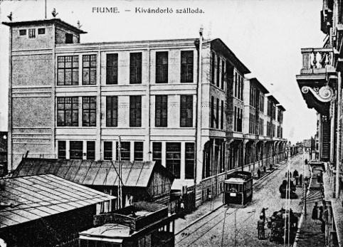 Fiume – Hotel Migranti