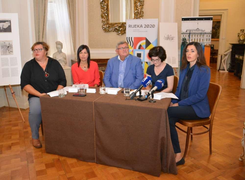 Konferencija za medije – najava izložbe D'Annunzijeva mučenica