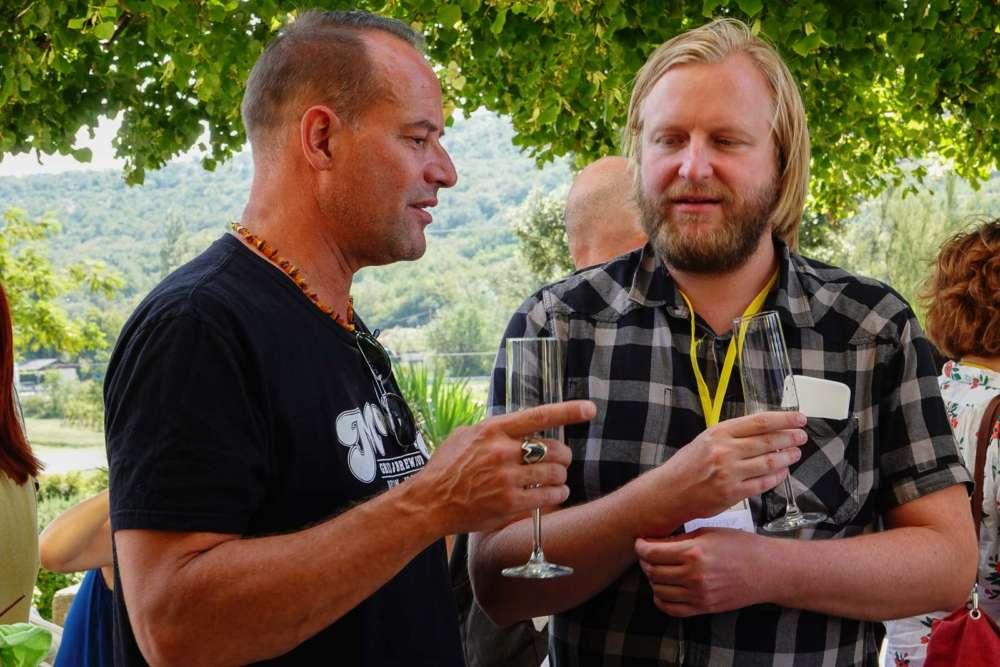 Machiel van den Heuvel, nizozemski redatelj i Shawn Rhodes redatelj filma This is love iz Kansasa