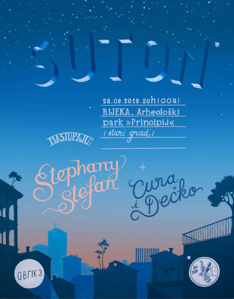 Suton – plakat by Bruno Velčić