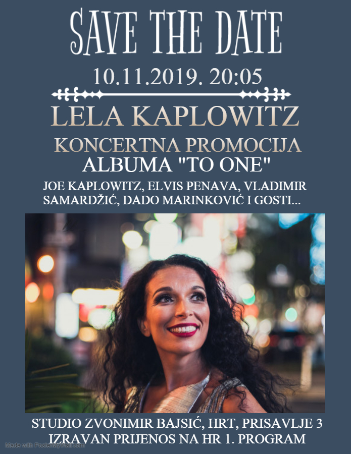 SAVE THE DATE 10.11.2019.