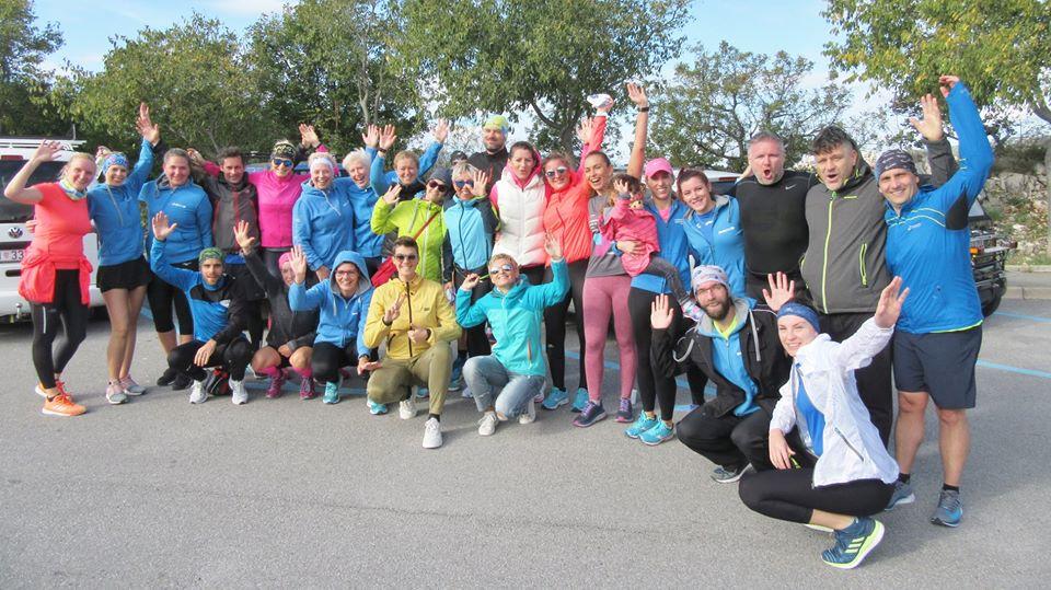 Torpedo Runners članovi na Zimskoj ligi Igor Malešević