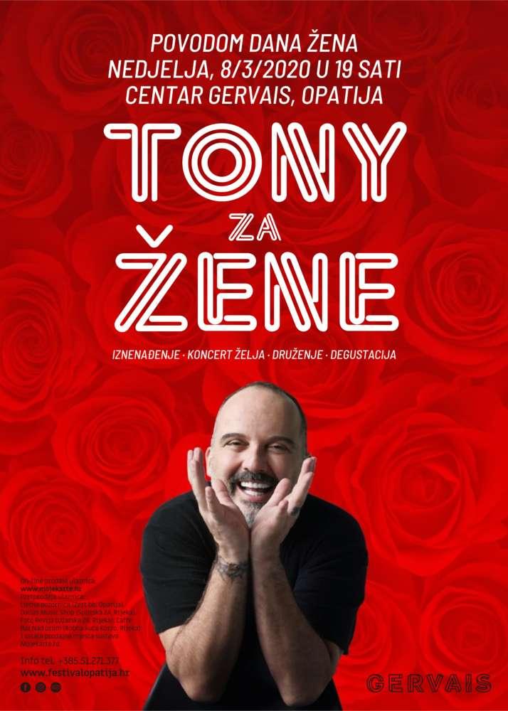 Tony za žene plakat