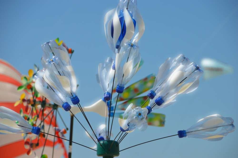 vjetrenjača od plastičnih boca