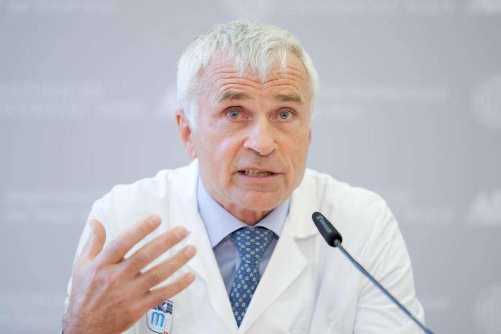 Dr. Klepetko naglasio je kompleksnost operacije © APA – Georg Hochmuth