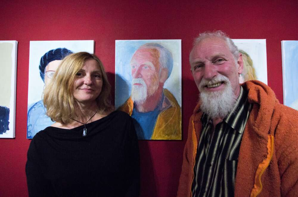 Dijana i Herbert Tarmann, voditelj galerijeTart (2)