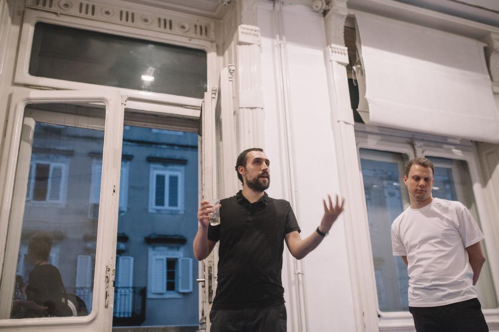 Lorusso i Schmieg u Filodrammatici 2018. godine, foto Tanja Kanazir