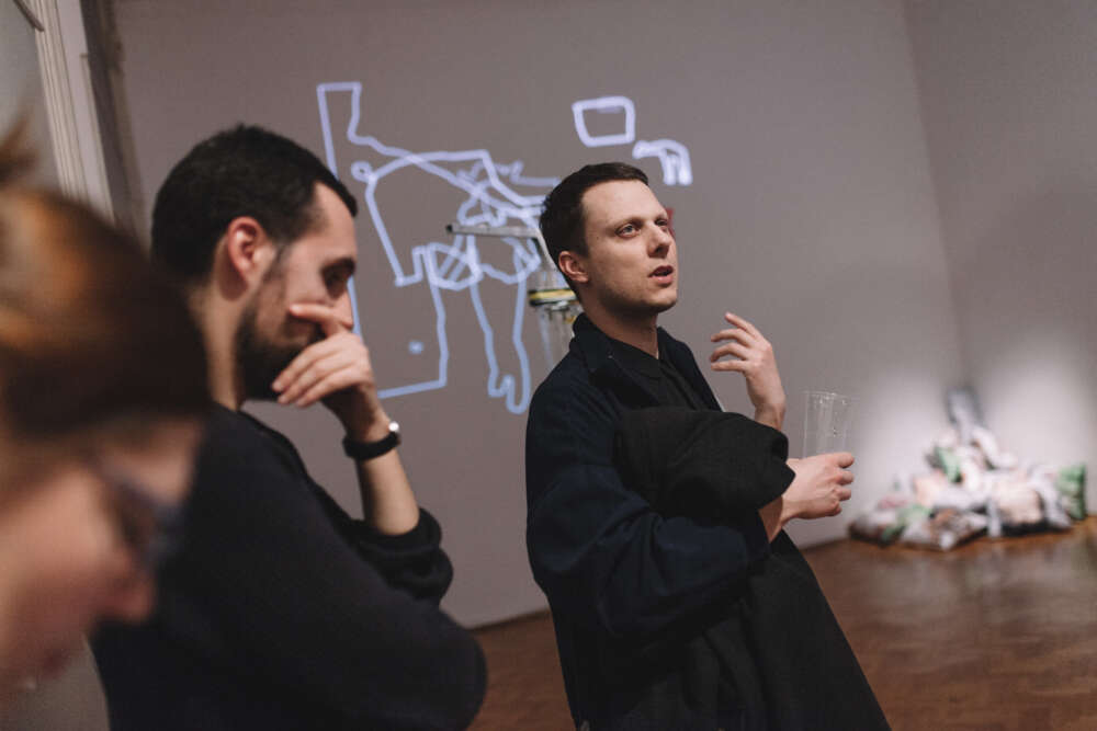 Lorusso i Schmieg u Filodrammatici 2019. godine, foto Tanja Kanazir