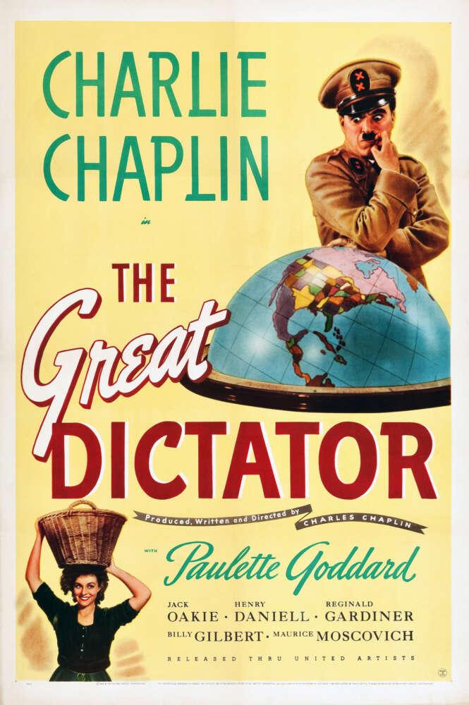 Veliki diktator poster