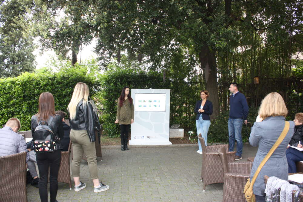 Otvorenje info točke Rimski vrt CLAUSTRA