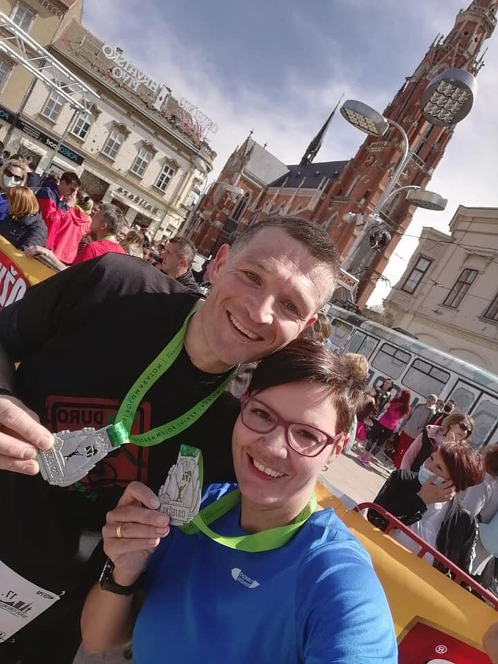 Torpedo Runners_Marcella i Kristijan Vidmar_Osječki Ferivi polumaraton