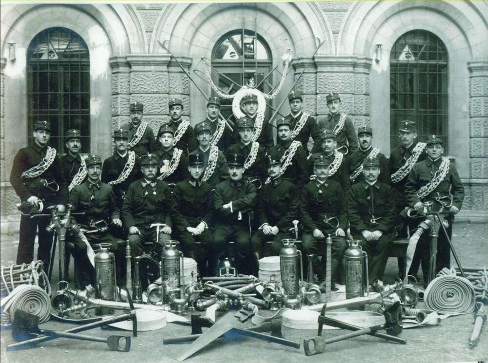 POMPIERI DI FIUME – 1914 Izvor Slavko Suzić