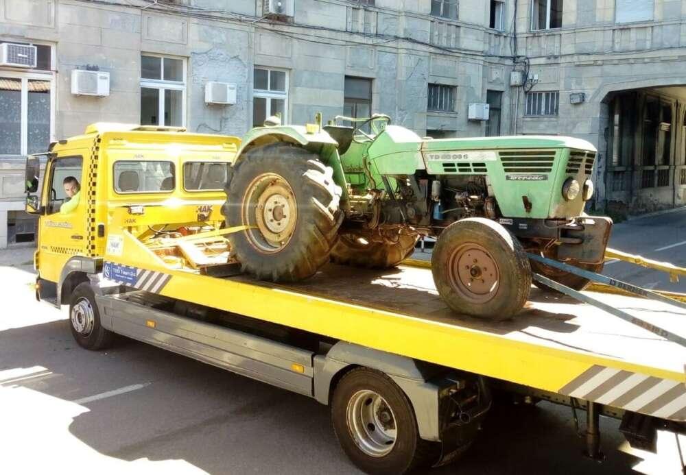 torpedo traktor