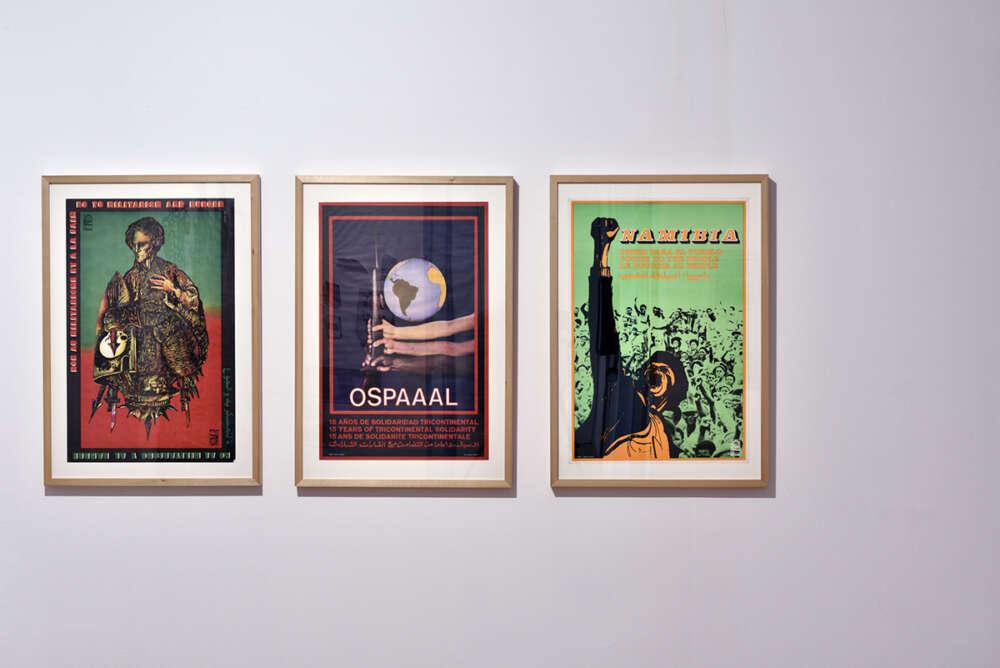 OSPAAAL plakati, 1980-e, offset tisak, foto Dejan Habicht, MG