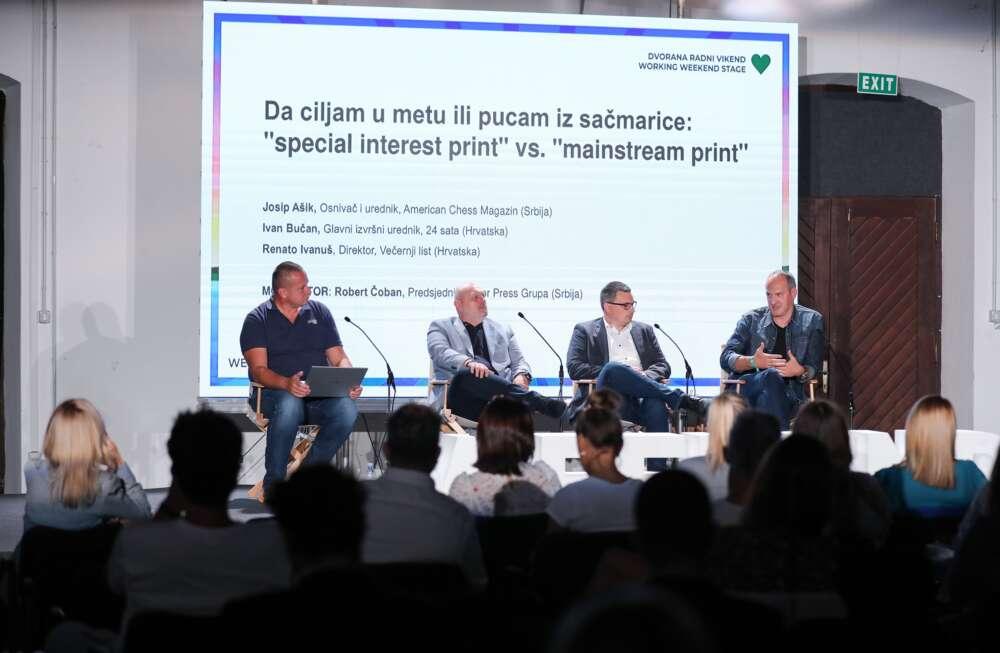 Panel Da ciljam u metu Robert Čoban_Renato Ivanuš_Ivan Buča_Josip Ašik_Emica ElveđiPIXELL