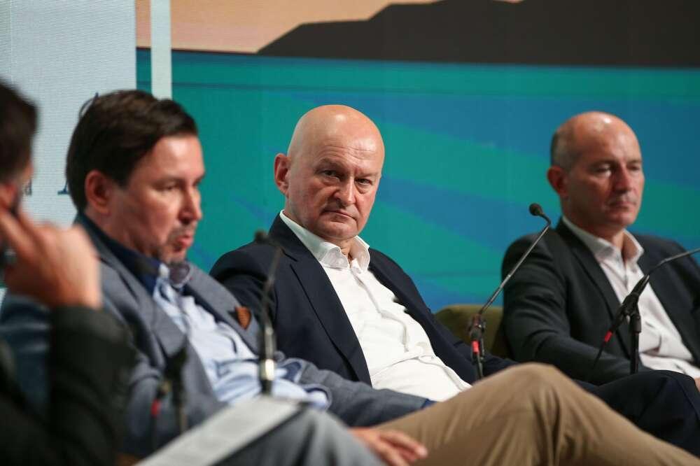 Panel Poduzetnik Hrvoje Bujas_Stjepan Orešković_Mihael Furjan PHOTO Matija HabljakPIXSELL