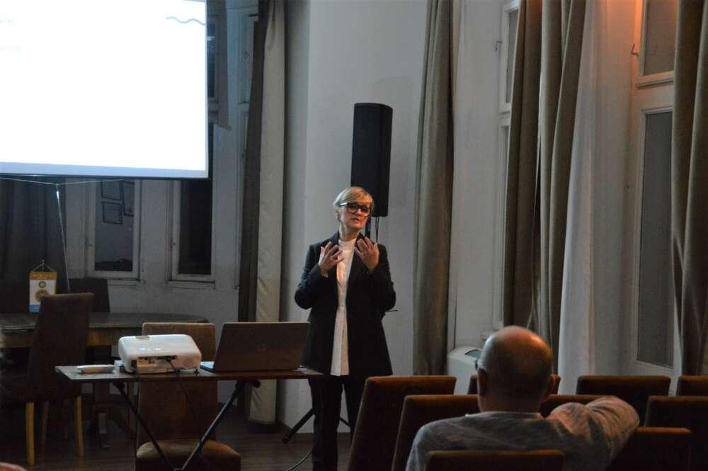 Rektorica Sveučilišta u Rijeci, prof. dr. sc. Snježana Prijić Samaržija održala je predavanje na temu Budućnost Europe, znanost i obrazovanje