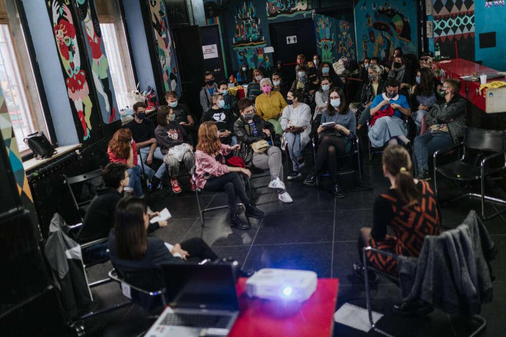 Smoqua 2021_Diskusija Zene i mediji_foto Tanja Kanazir