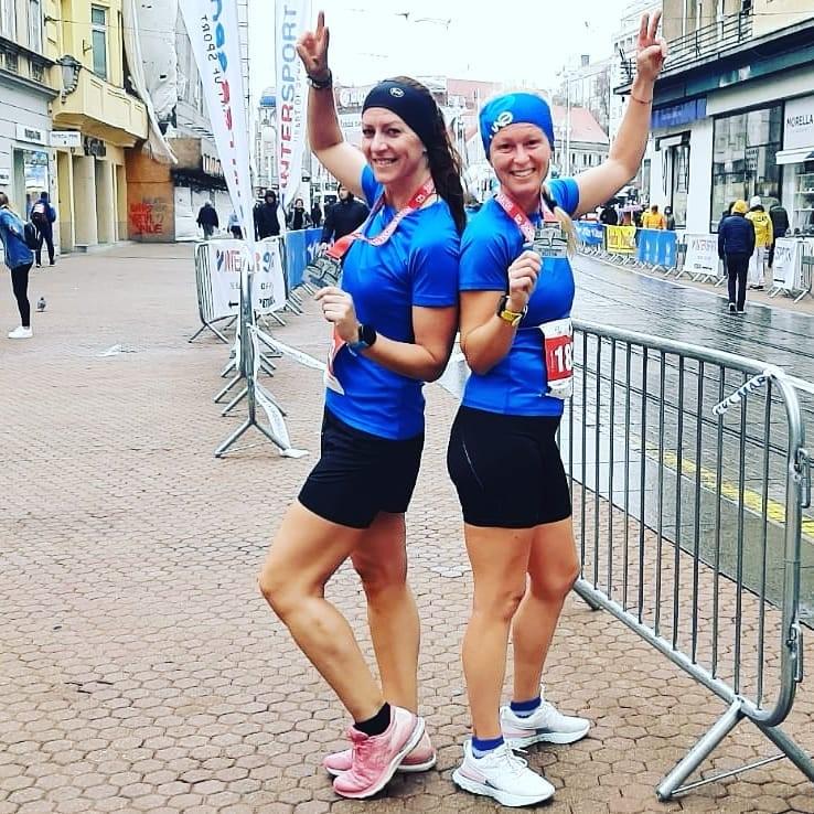 Torpedo runners_Ivana Morić_Sanja Kauzlarić_Zagrebački marathon