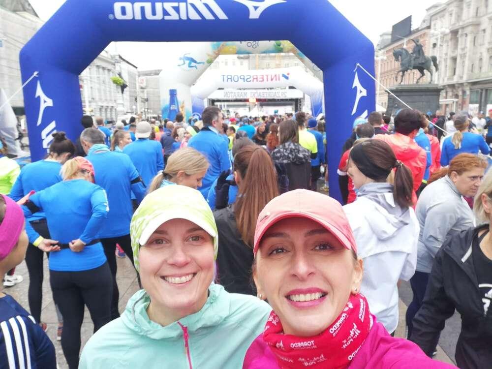 Torpedo runners_Tamara Despotović_Vanessa Glavina_Zagrebački marathon